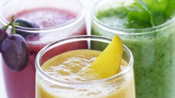 DIY Smoothies: Recipes available in the Fresh Start Blog.