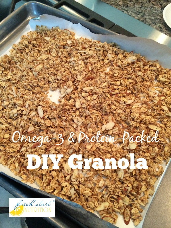 Omega-3 and Protein-Packed DIY Granola (Fresh Start Nutrition)