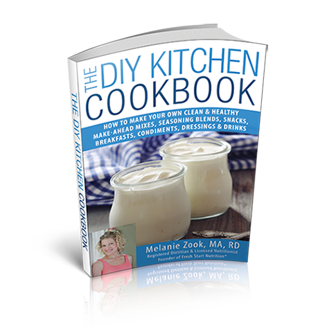Take control of what goes into your food with the DIY Kitchen Cookbook